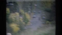 1975: main street in a small, quiet mountain town ATLANTA GEORGIA Stock Footage
