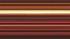 Broadcast Twinkling Horizontal Hi-Tech Bars, Brown, Abstract, Loopable, 4K Stock Footage