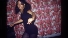 1975: dancing party kids BRONX NEW YORK Stock Footage