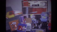 1976: it is always a great day at the end of a year when we are celebrating xmas Stock Footage