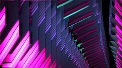 VJ Loop Mirror Panels Stock Footage
