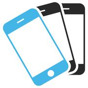 Smartphones Vector Eps Icon Stock Illustration
