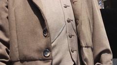 Costumed Man: Count von Zepplin Stock Footage