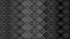Seamless graphic background with geometric pattern - 01 - on black (FULL HD) Stock Footage