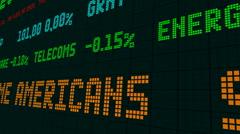 Stock market ticker social security taxes Arkistovideo