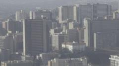 Buildings in Johannesburg Stock Footage