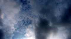 Hyper lapse of stunning monsoon clouds. Stock Footage