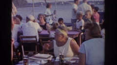 1963: retro family holidays video flashback to the old days NEW JERSEY Stock Footage