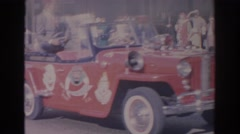 1966: shriners on parade FLORIDA Arkistovideo