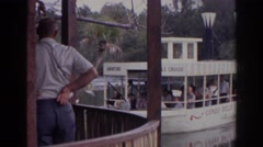 1966: the riverboat finally coming in. NORFOLK VIRGINIA Stock Footage