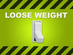 Loose Weight concept Stock Illustration