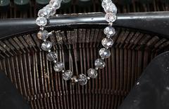 Beads made of gem stones Stock Photos
