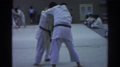 1966: in life everyone has be able to defend themselves when necessary TEMPLE Stock Footage