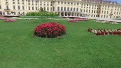 Vienna, Austria: Schonbrunn Palace Stock Footage