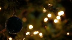 Christmas Decorative Stock Footage
