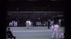 1967: martial artists performing their craft LOS ANGELES CALIFORNIA Stock Footage
