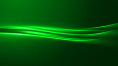 4k Green Light Energy Streaks Abstract Animation Background Seamless Loop. Stock Footage