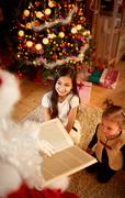 Christmas fairy tale Stock Photos