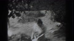 1937: what are you doing my son i t VACAVILLE CALIFORNIA Stock Footage