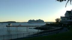 Regal Princess a Royal-class cruise ship Stock Footage
