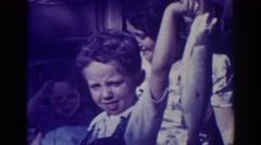 "1938: ""i caught a fish!"" EL DORADO CITY CALIFORNIA Stock Footage"