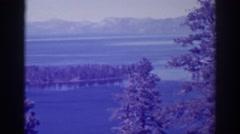 1938: views of natural beauty EMERALD BAY CALIFORNIA Stock Footage