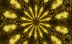Kaleidoscope sequence. Abstract motion graphics background Stock Footage