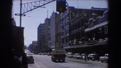 1967: a day in the city life. BRISBANE AUSTRALIA Stock Footage