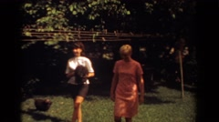 1967: boat in sea FORT LAUDERDALE FLORIDA Stock Footage