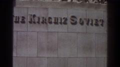 1939: the kirghiz soviet socialist republic NEW YORK WORLDS FAIR Stock Footage