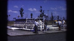 1967: discussing of big project BRISBANE AUSTRALIA Stock Footage