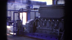 1967: viewing of an industrial appliance. BRISBANE AUSTRALIA Stock Footage