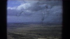 1967: a feisty windstorm. PERTH AUSTRALIA Stock Footage