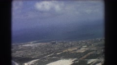 1967: airplane viewing of a the rural areas. PERTH AUSTRALIA Stock Footage