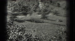 1937: a beautiful landscape that is attractive, pleasant, well-maintained  Stock Footage