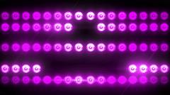 Flashing Light Patterns PURPLE Stock Footage
