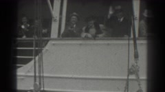 1939: bye bye we are going to our trip SAN FRANCISCO CALIFORNIA Stock Footage
