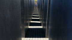 The Memorial to the Murdered Jews of Europe, also known as the Holocaust Stock Footage
