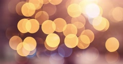Abstract Blurred Christmas Lights Bokeh Background. 4K DCi SLOW MOTION 120 fps. Stock Footage