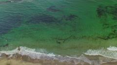 Sea Waves Aerial Stock Footage