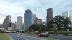 Video of Houston downtown area Stock Footage