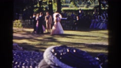 1941: what a beautiful day for a wedding. FLORIDA Stock Footage