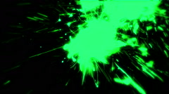 Glowing Neon Paint Splash - 69 Stock Footage