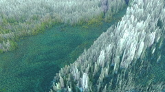 Abstract 3d landscape Stock Footage