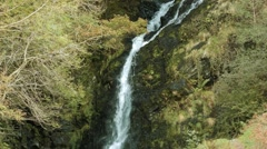 Grey Mare's Tail, Dumfries and Galloway Stock Footage