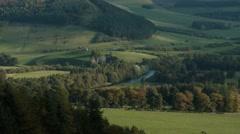 1k Timelapse, Tweed Valley, Scottish Borders Stock Footage