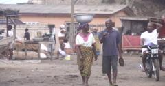 Ghanaian couple Stock Footage