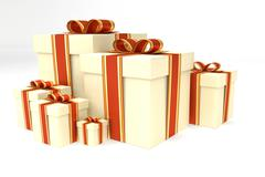 Collection of presents Stock Illustration