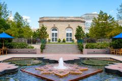 The United States Botanic Garden in Washington D.C. Kuvituskuvat