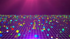 Disco BG. 4K Stock Footage